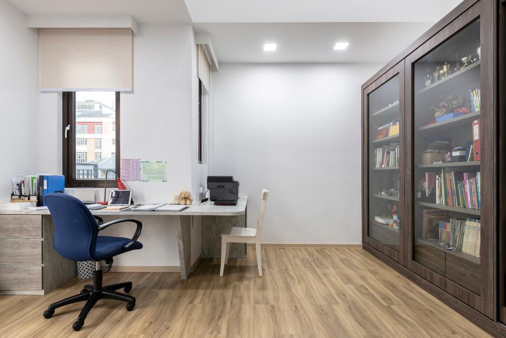 Contemporary, Landed, Study, Jalan Selanting, Interior Designer, De Exclusive Design Group