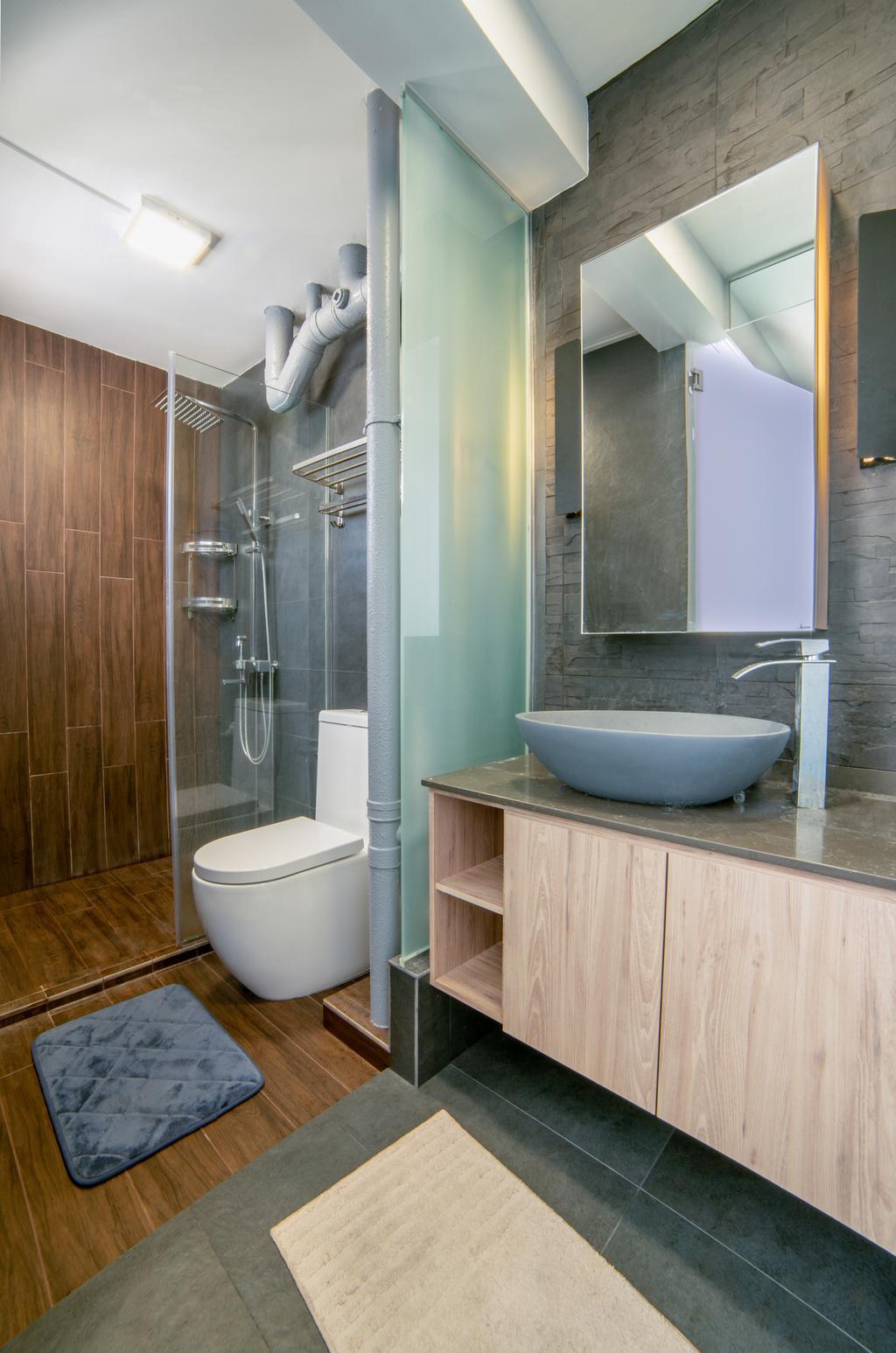 Contemporary, HDB, Bathroom, Bishan Street 12, Interior Designer, Escapade Studios