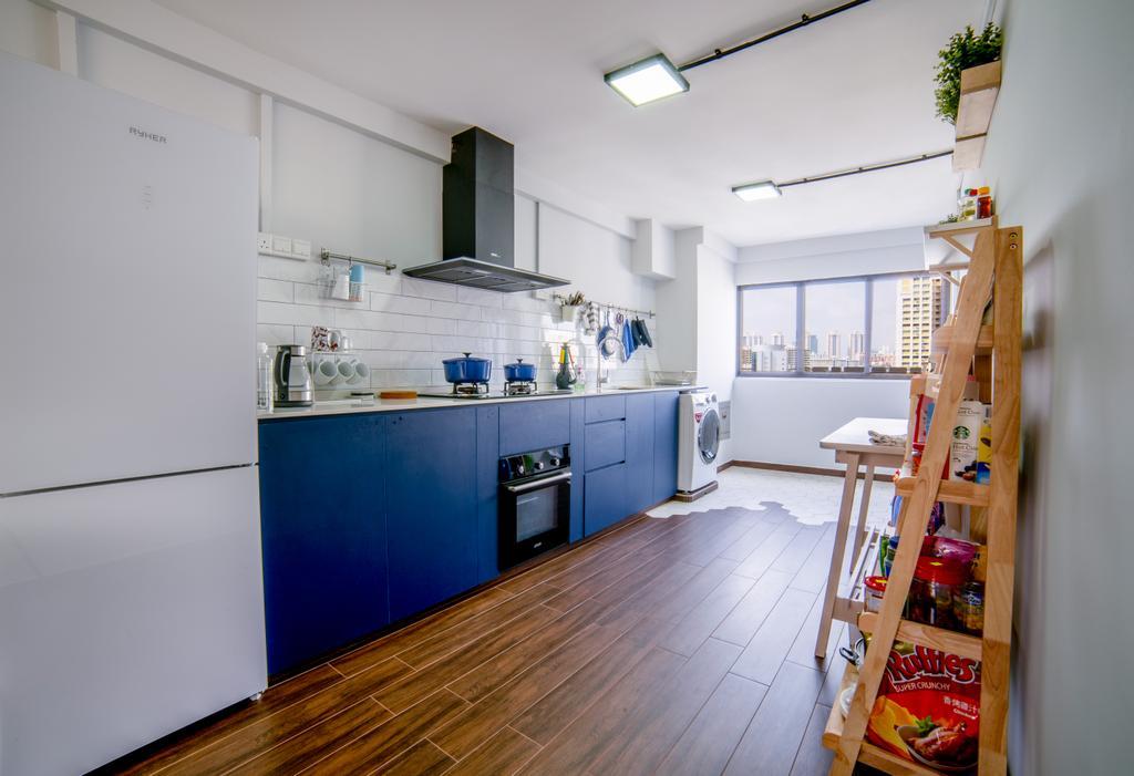 Contemporary, HDB, Kitchen, Bishan Street 12, Interior Designer, Escapade Studios