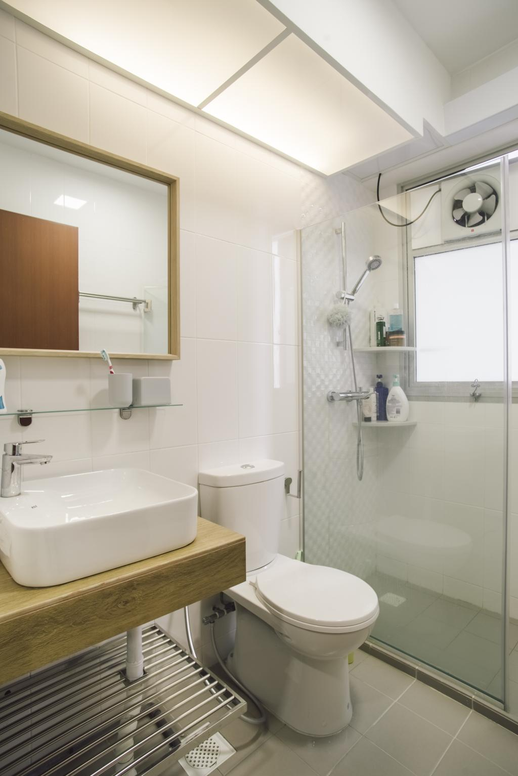 Contemporary, HDB, Bathroom, Bukit Batok Avenue 6, Interior Designer, Escapade Studios