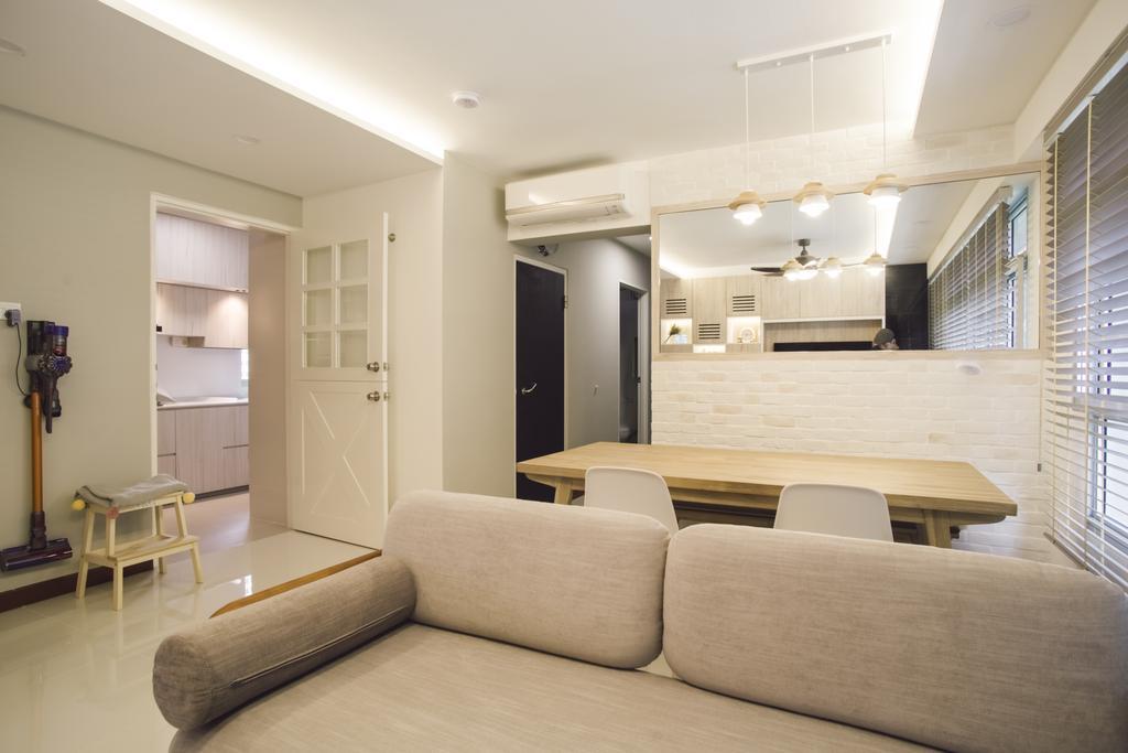 Contemporary, HDB, Dining Room, Bukit Batok Avenue 6, Interior Designer, Escapade Studios