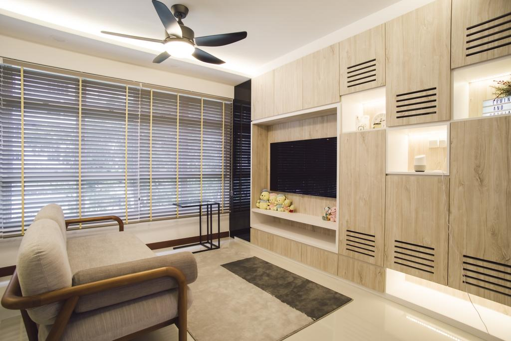 Contemporary, HDB, Living Room, Bukit Batok Avenue 6, Interior Designer, Escapade Studios