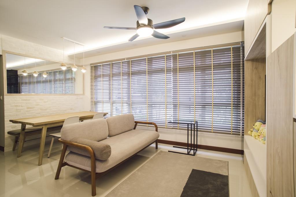 Contemporary, HDB, Living Room, Bukit Batok Avenue 6, Interior Designer, Escapade Studios
