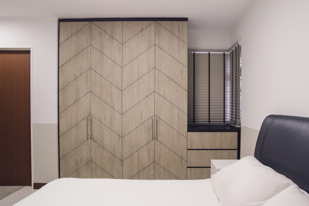 Contemporary, HDB, Bedroom, Bukit Batok Avenue 6, Interior Designer, Escapade Studios