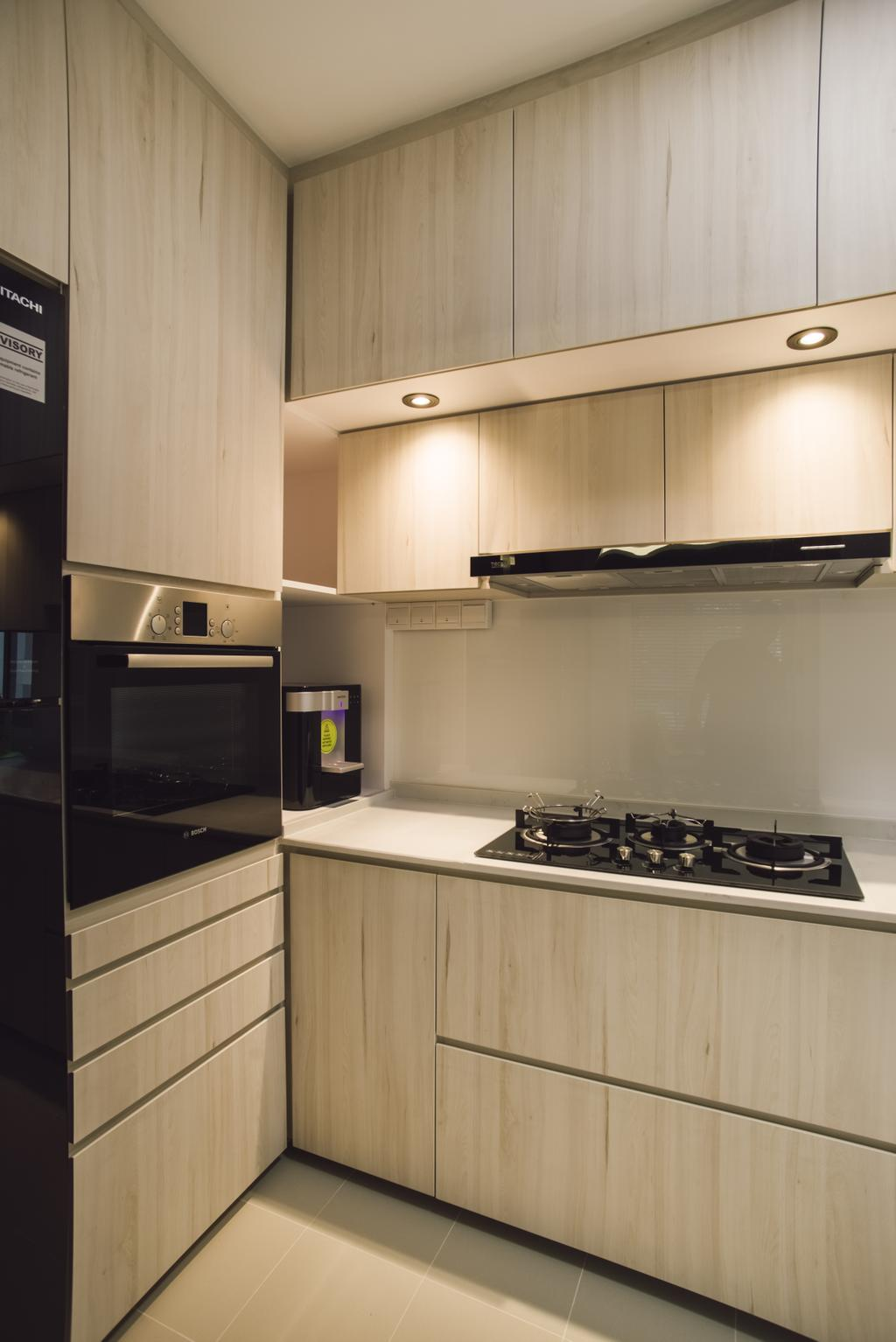 Contemporary, HDB, Kitchen, Bukit Batok Avenue 6, Interior Designer, Escapade Studios