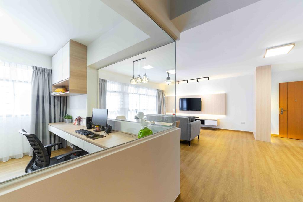 HDB, Bukit Batok West Avenue 8, Interior Designer, Fineline Design