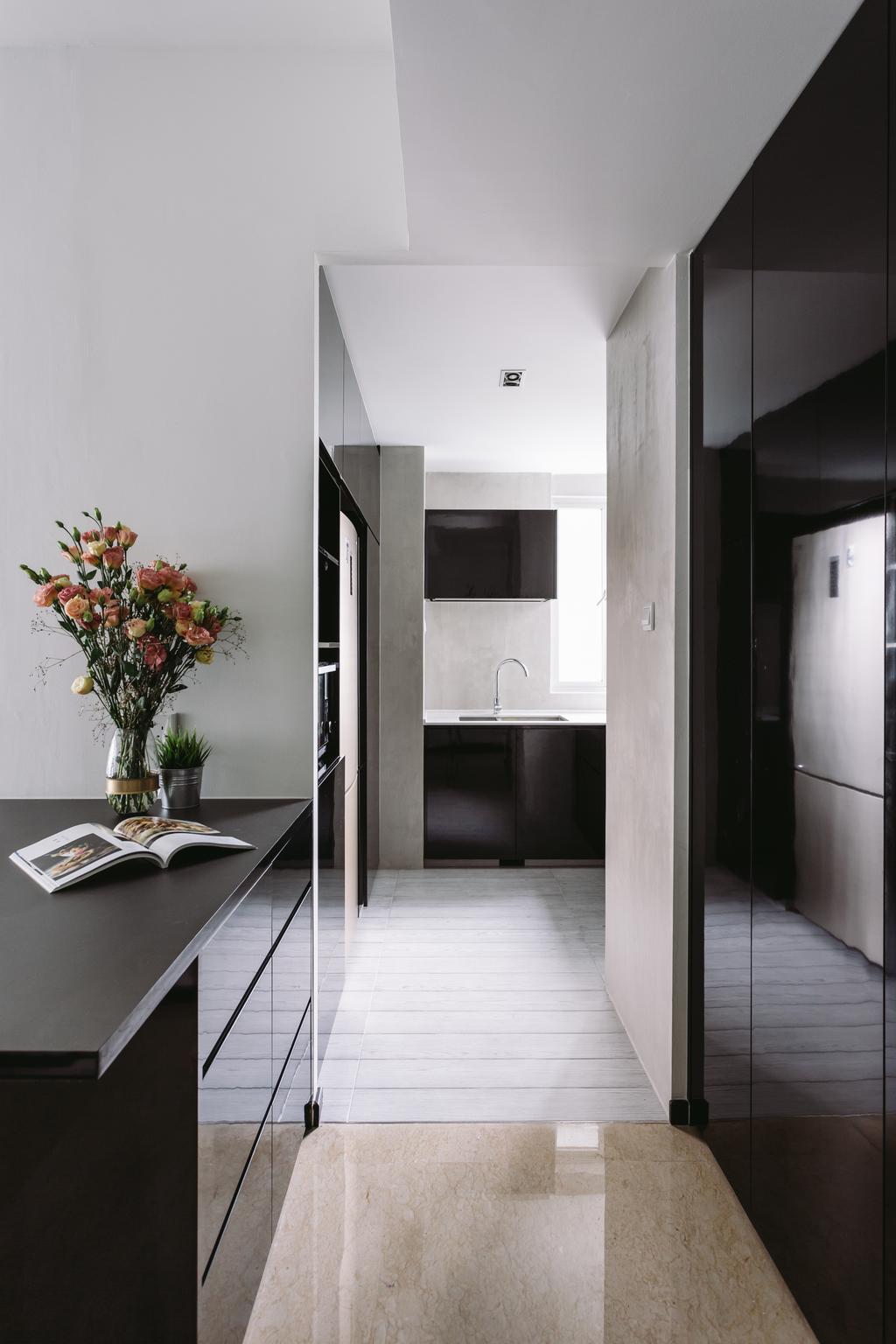 Contemporary, Condo, Kitchen, The Levelz, Interior Designer, Schemacraft