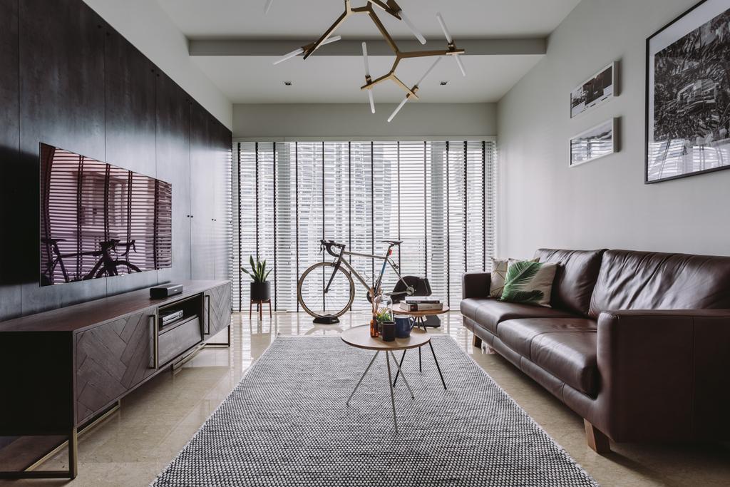 Contemporary, Condo, Living Room, The Levelz, Interior Designer, Schemacraft