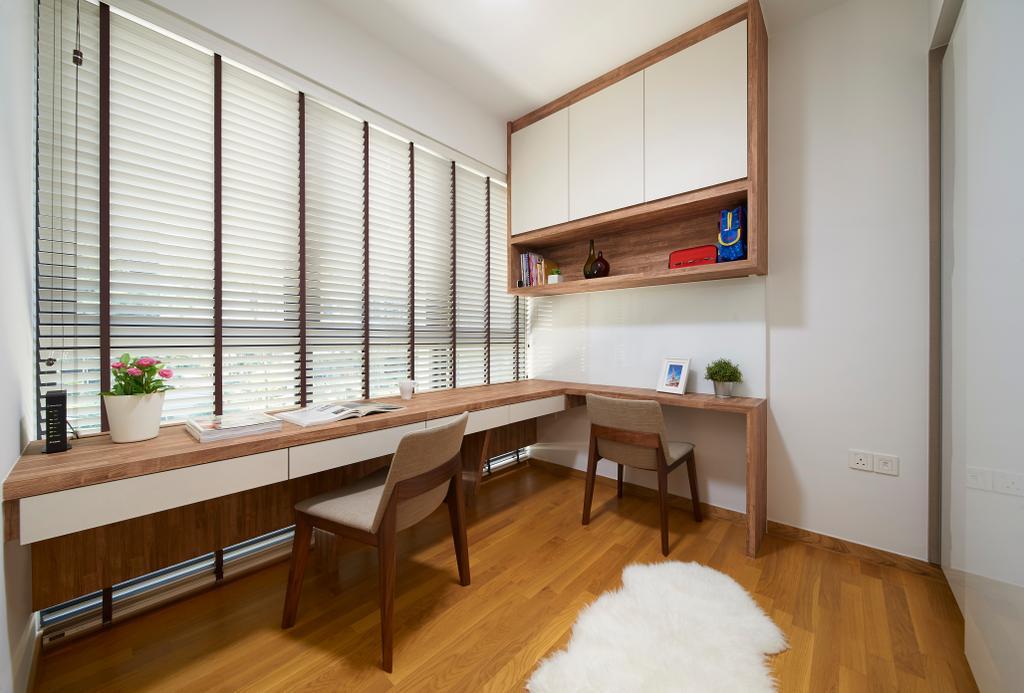 Contemporary, Condo, Study, Bartley Ridge, Interior Designer, AC Vision Design