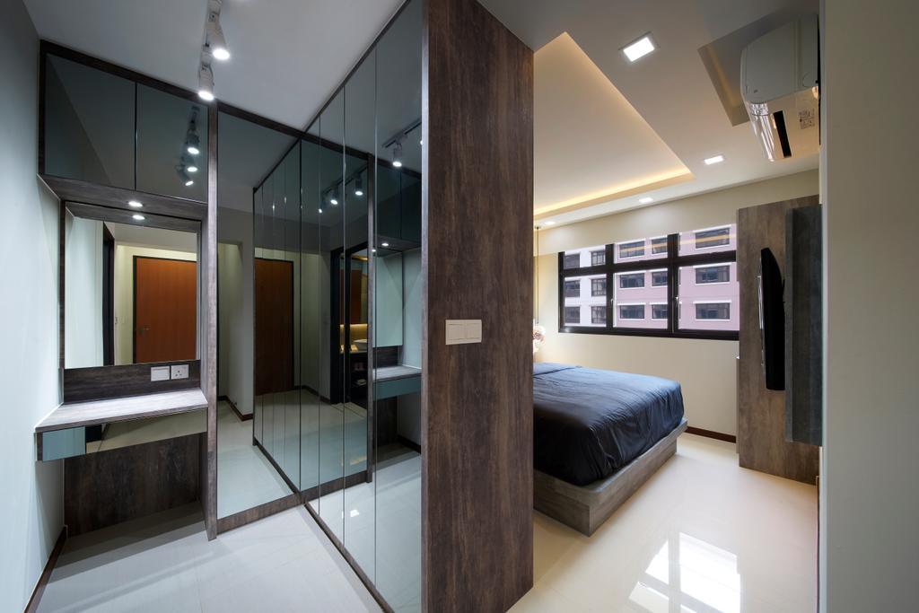 Contemporary, HDB, Bedroom, Buangkok Crescent, Interior Designer, AC Vision Design