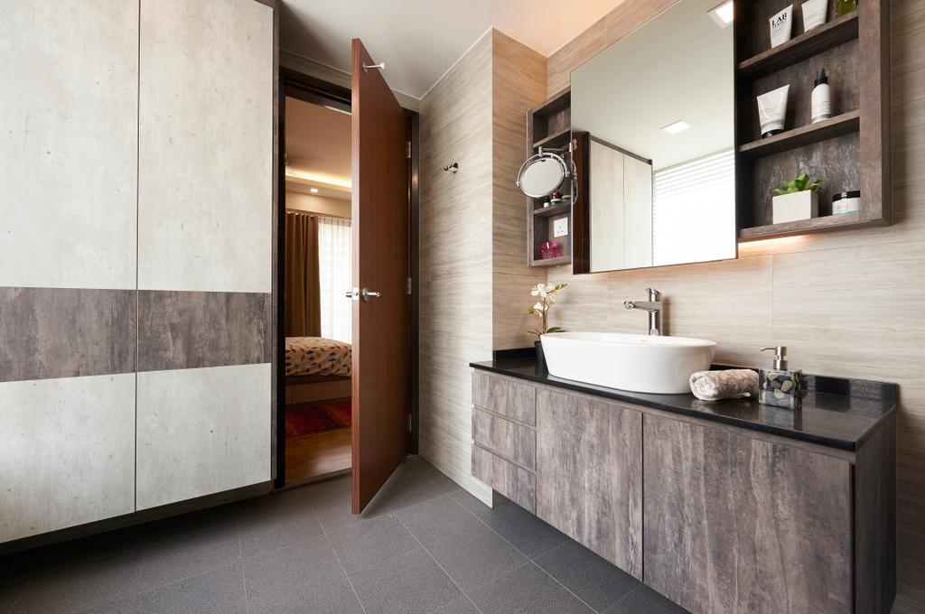 Contemporary, Condo, Bathroom, Ris Grandeur, Interior Designer, AC Vision Design