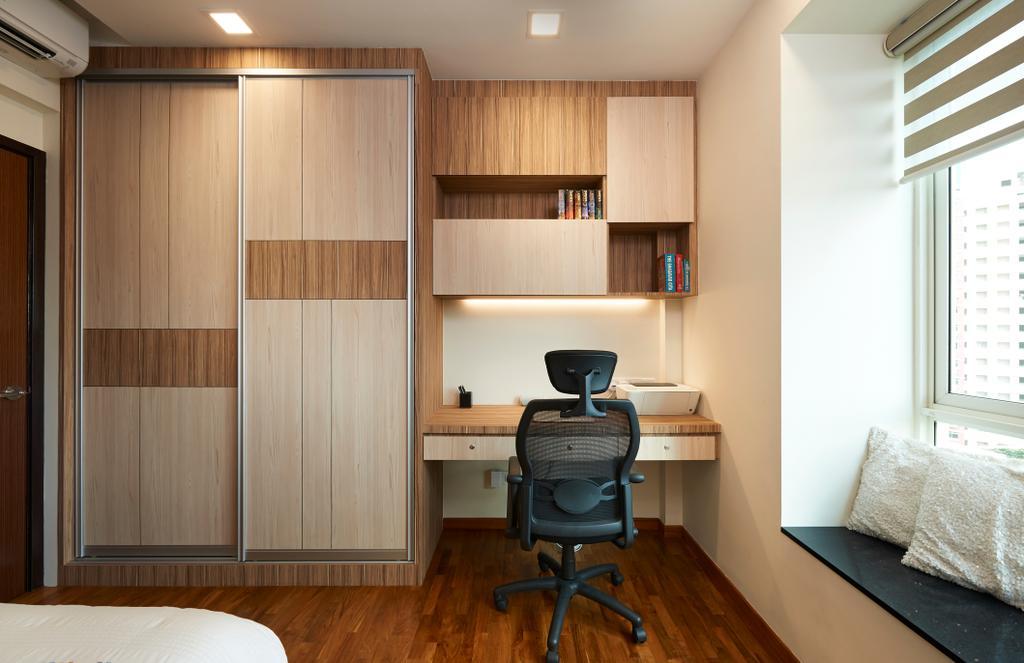 Contemporary, Condo, Study, Ris Grandeur, Interior Designer, AC Vision Design