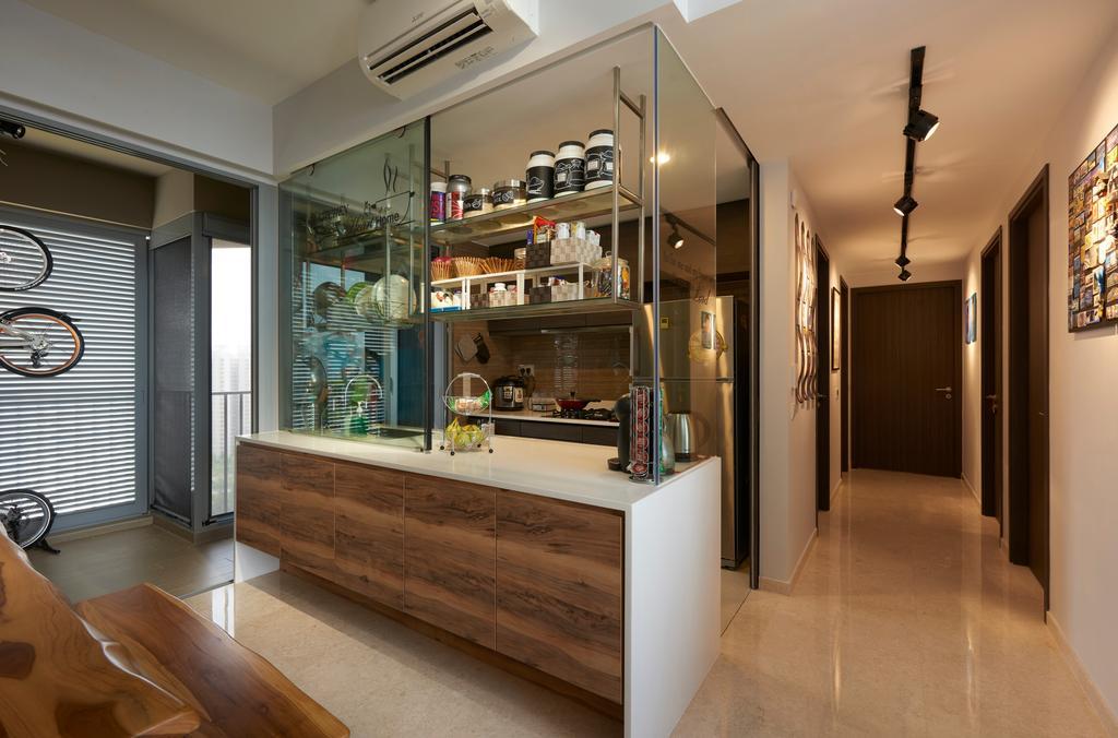 Contemporary, Condo, Living Room, Rivertree Residences, Interior Designer, AC Vision Design