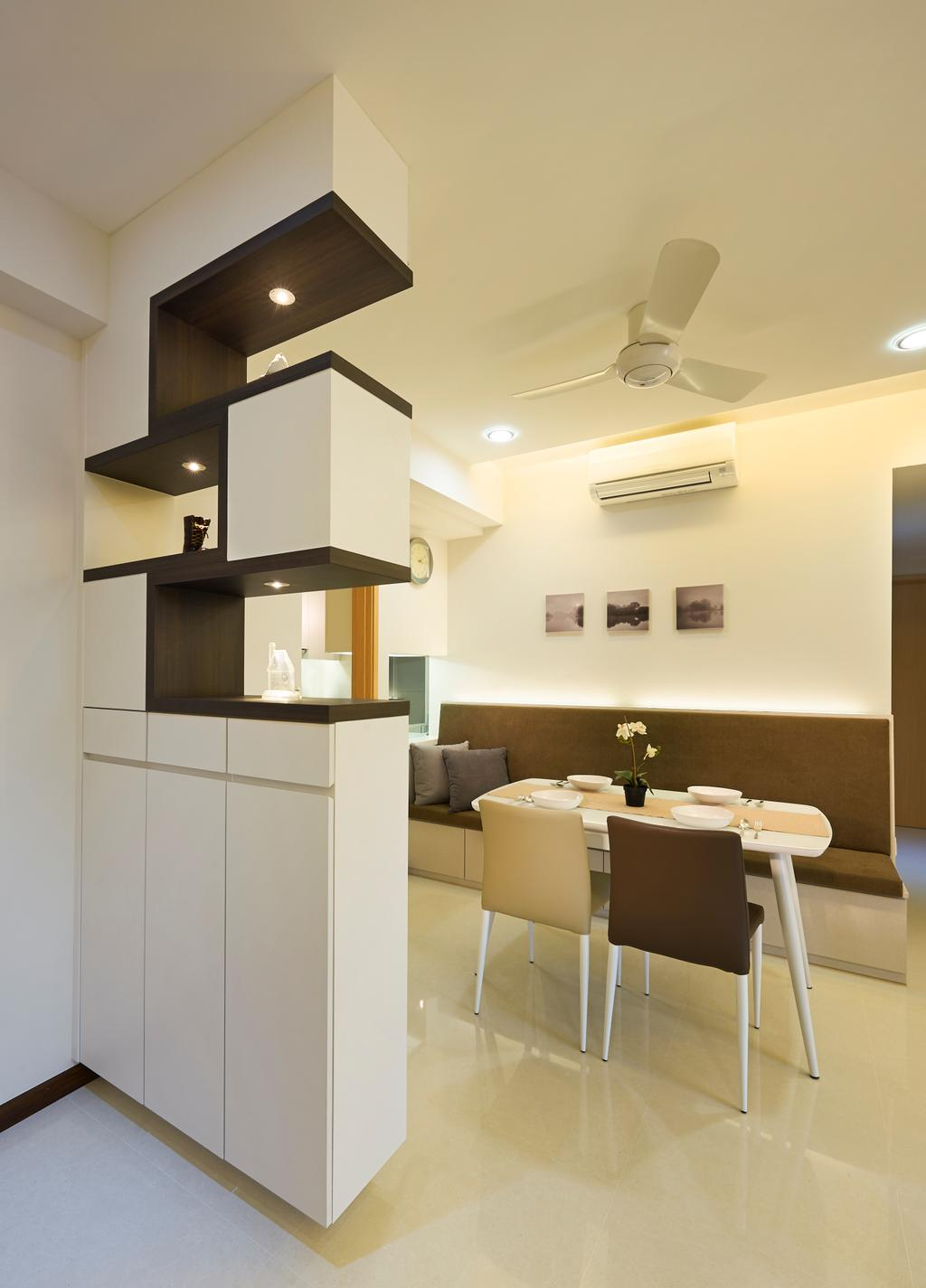 Contemporary, HDB, Living Room, Tampines Central 7, Interior Designer, AC Vision Design