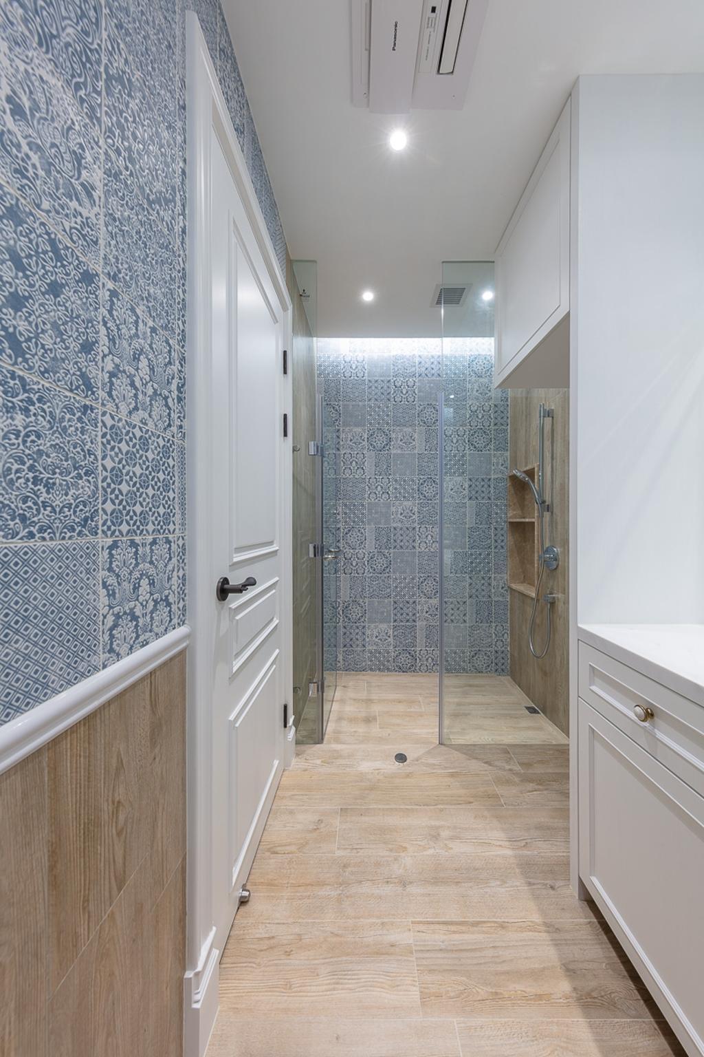 過渡時期, 私家樓, 浴室, 天璽, 室內設計師, 和生設計, 當代