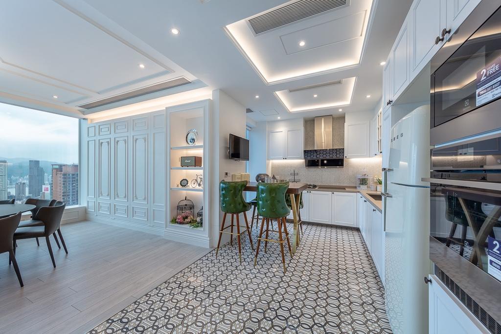 過渡時期, 私家樓, 廚房, 天璽, 室內設計師, 和生設計, 當代