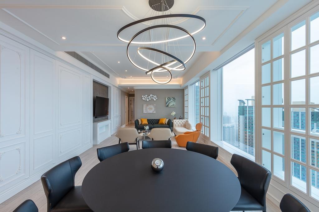 過渡時期, 私家樓, 客廳, 天璽, 室內設計師, 和生設計, 當代