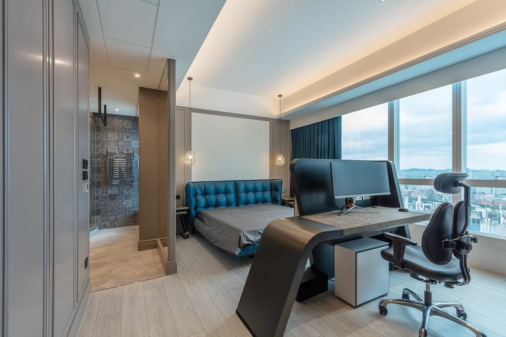過渡時期, 私家樓, 睡房, 天璽, 室內設計師, 和生設計, 當代