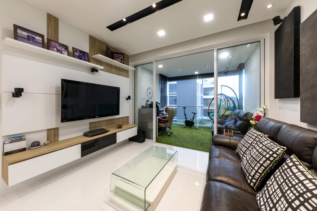 Contemporary, Condo, Living Room, The Northwood, Interior Designer, Space Concepts Design