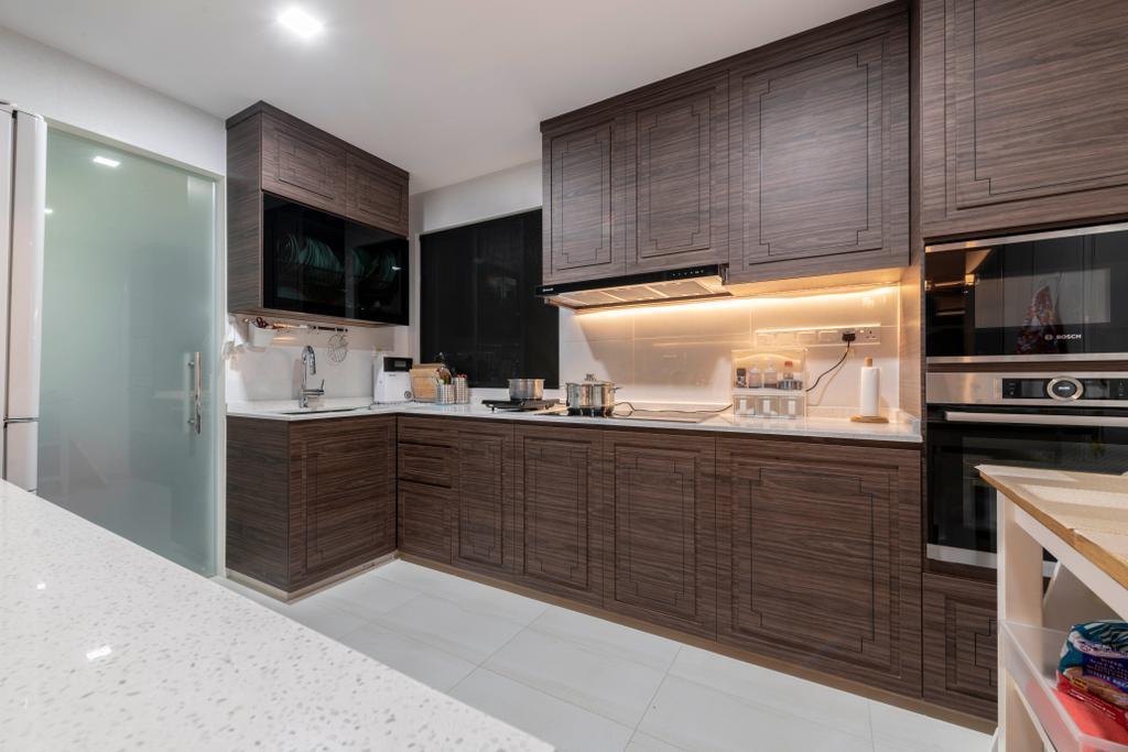 Transitional, Condo, Kitchen, The Sterling, Interior Designer, Project Guru