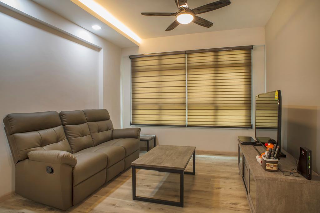 Contemporary, HDB, Living Room, Sengkang West Way, Interior Designer, Great Oasis Interior Design