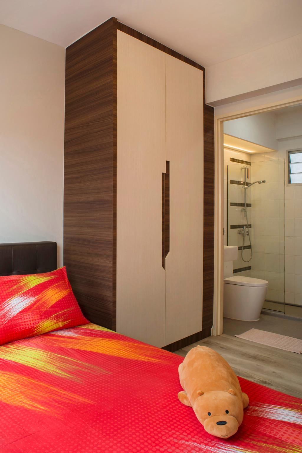 Contemporary, HDB, Bedroom, Sengkang West Way, Interior Designer, Great Oasis Interior Design