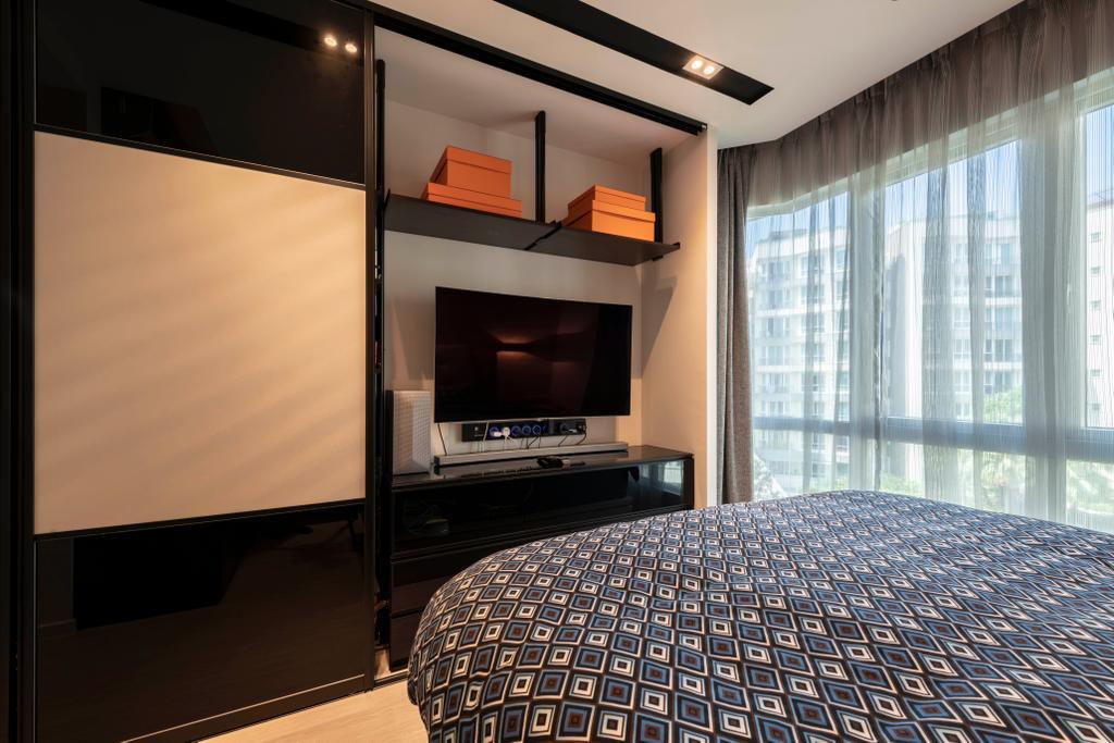 Contemporary, Condo, Bedroom, Edelweiss Park, Interior Designer, Escapade Studios