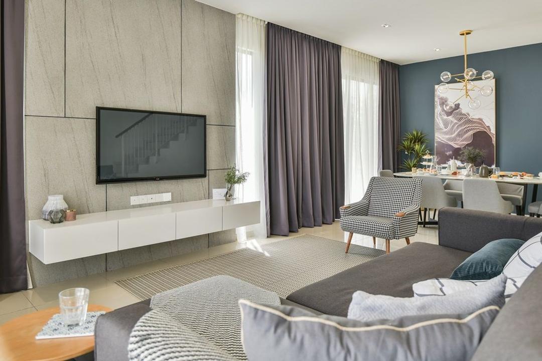 Setia Ecohill Living Room Interior Design 11