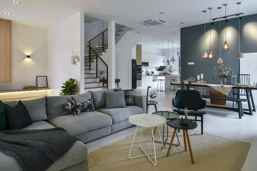 Muar Living Room Interior Design 6