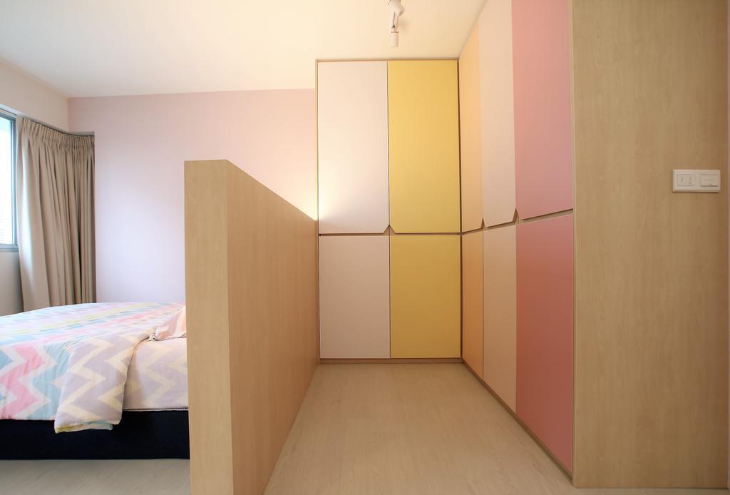 Contemporary, HDB, Bedroom, Telok Blangah, Interior Designer, Intrigue-d Design Consultancy