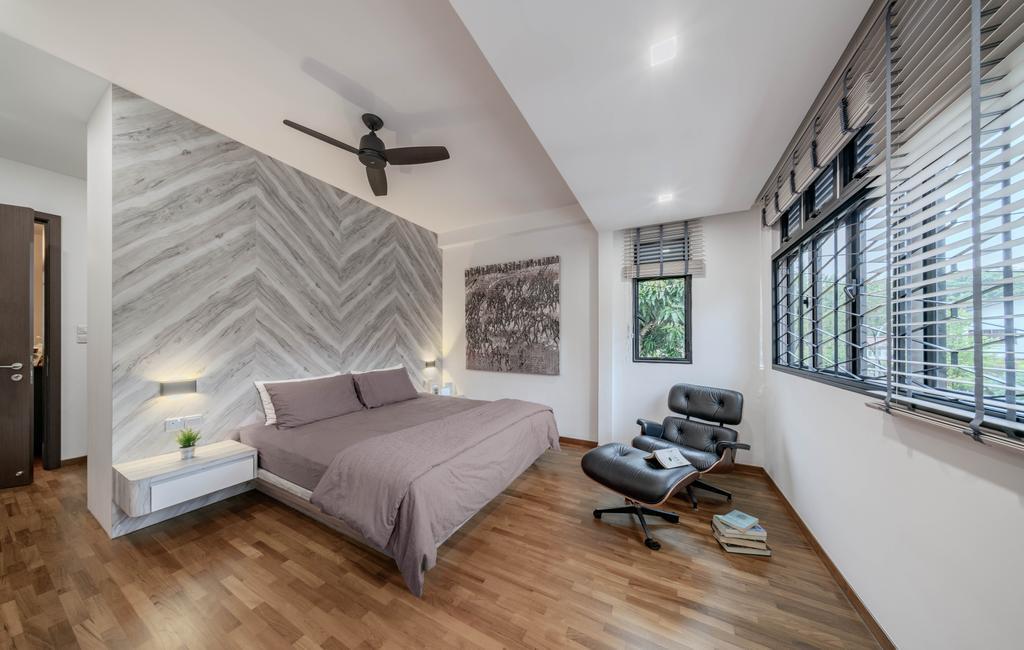 Contemporary, Landed, Bedroom, Jalan Rebana, Interior Designer, T&T Design Artisan