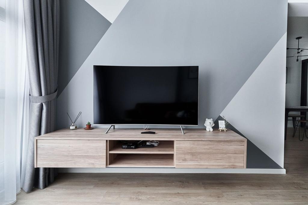 Contemporary, HDB, Living Room, Sumang Walk, Interior Designer, Charlotte's Carpentry