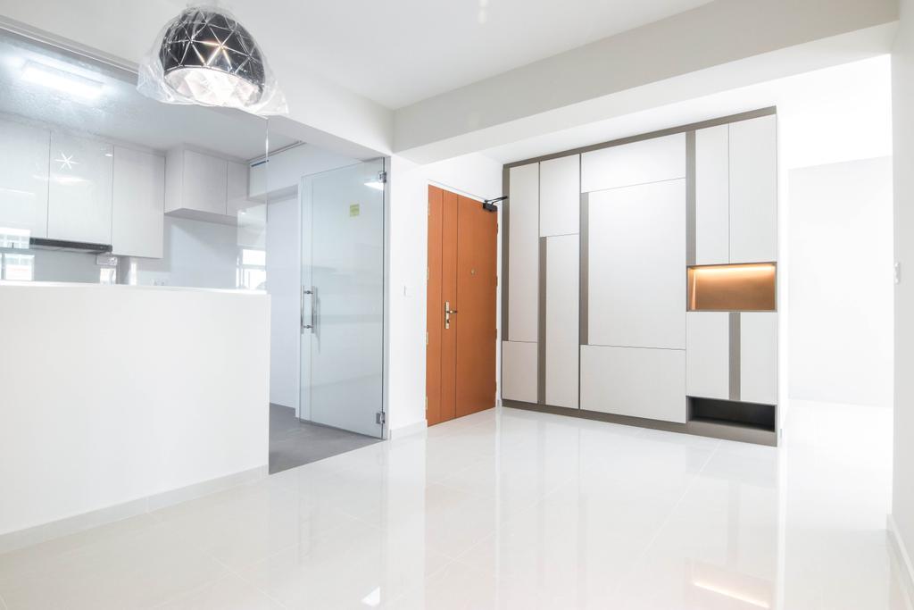 Contemporary, HDB, Living Room, Canberra Drive, Interior Designer, 9 Creation