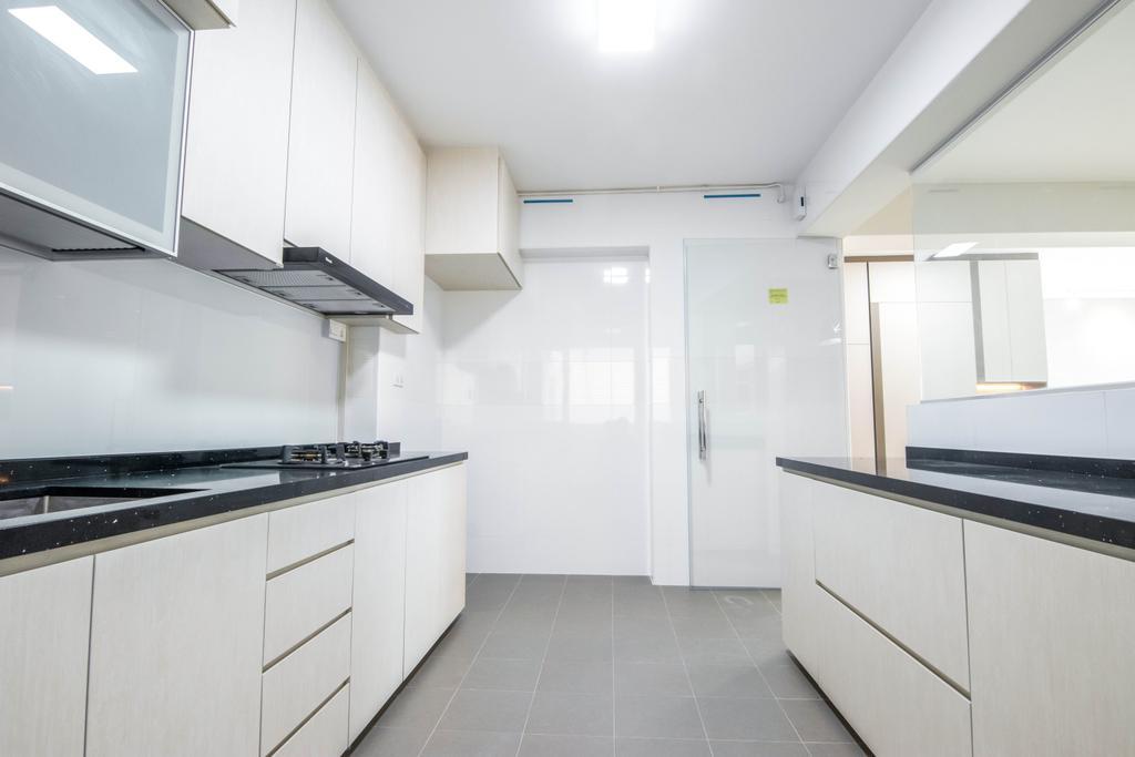 Contemporary, HDB, Kitchen, Canberra Drive, Interior Designer, 9 Creation