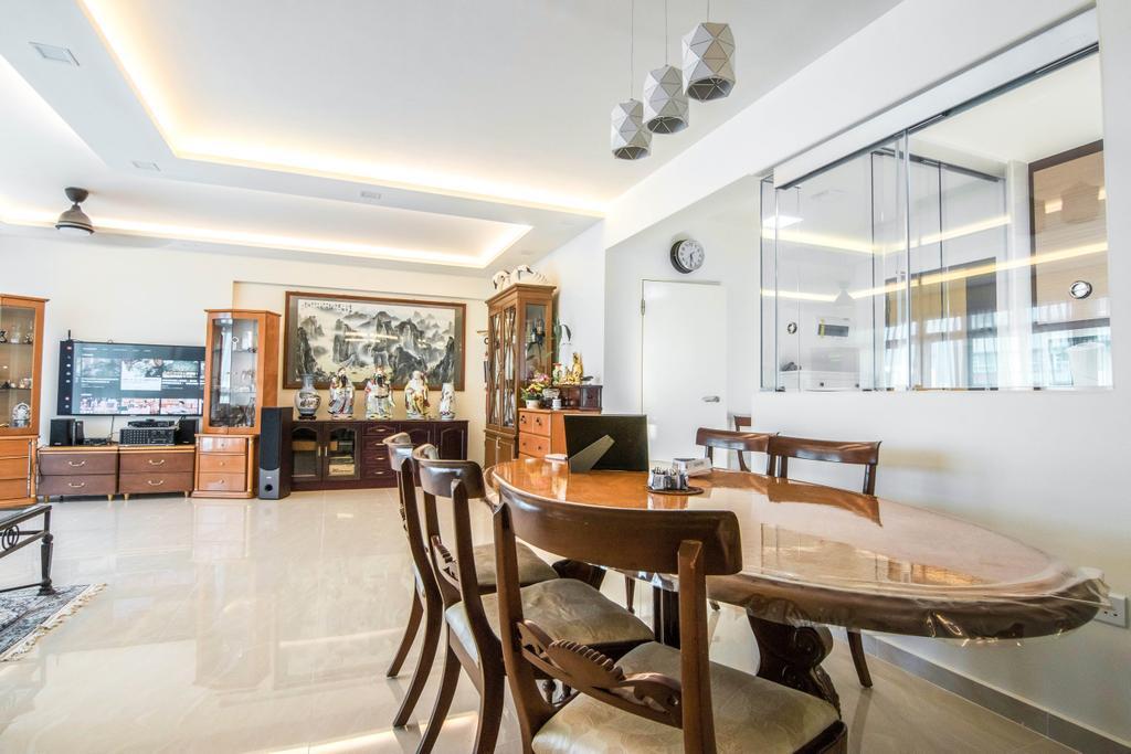 Traditional, HDB, Dining Room, Punggol Drive, Interior Designer, 9 Creation, Contemporary