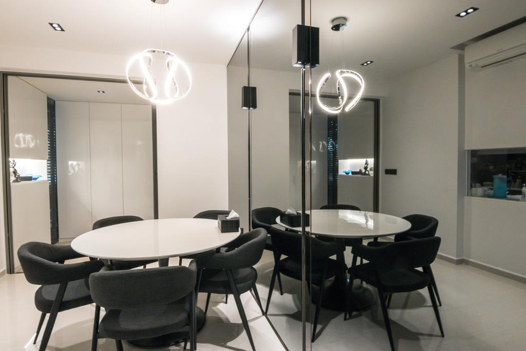 Contemporary, Condo, Dining Room, Sol Acres, Interior Designer, 9 Creation