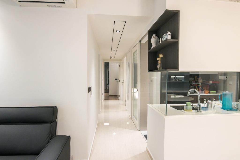 Contemporary, Condo, Living Room, Sol Acres, Interior Designer, 9 Creation