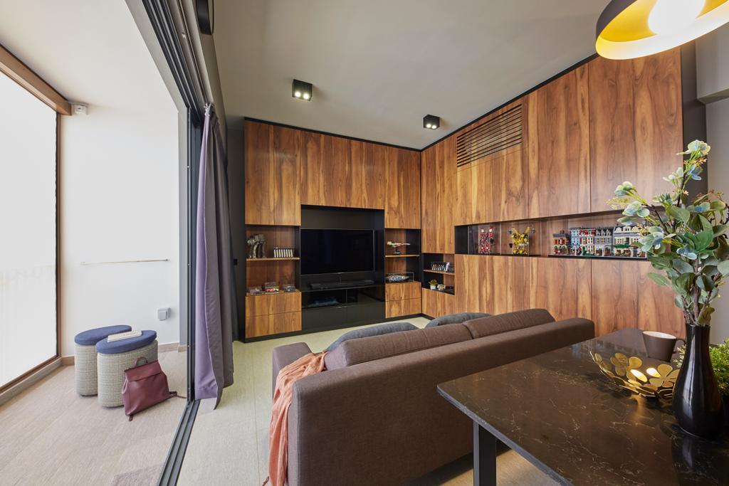 Contemporary, Condo, Living Room, The Criterion, Interior Designer, The Interior Lab