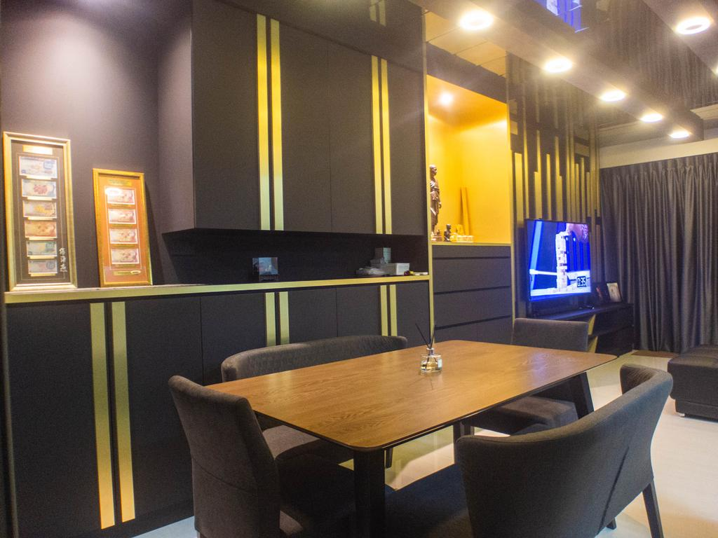 Contemporary, Condo, Dining Room, Sol Acres, Interior Designer, The Wooden Platform