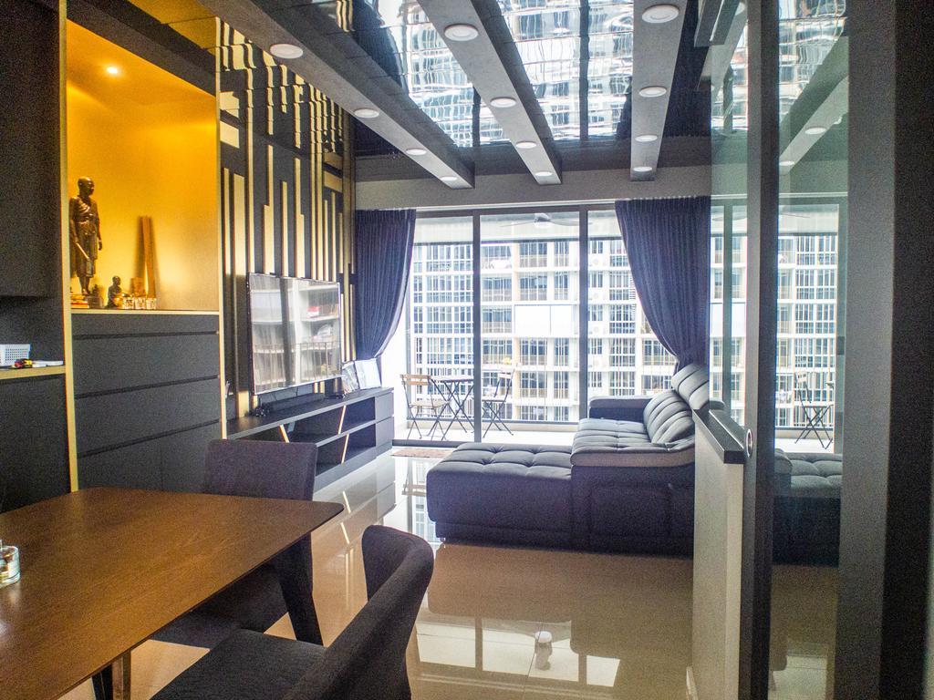 Contemporary, Condo, Living Room, Sol Acres, Interior Designer, The Wooden Platform