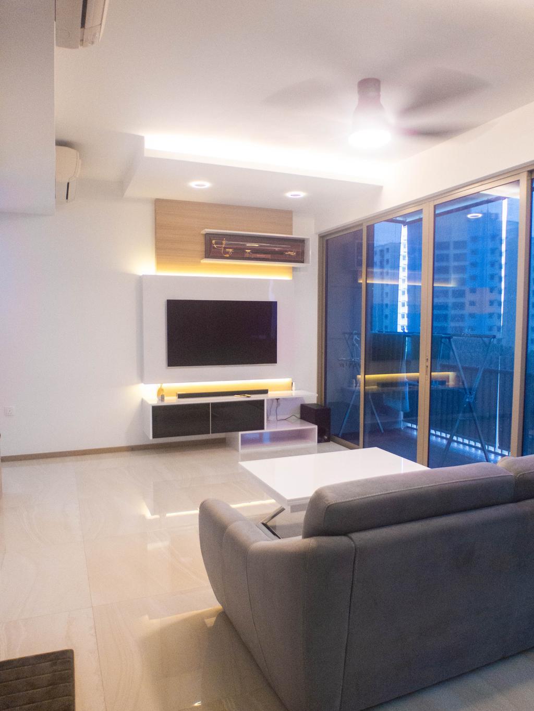 Contemporary, Condo, Living Room, The Vales, Interior Designer, The Wooden Platform