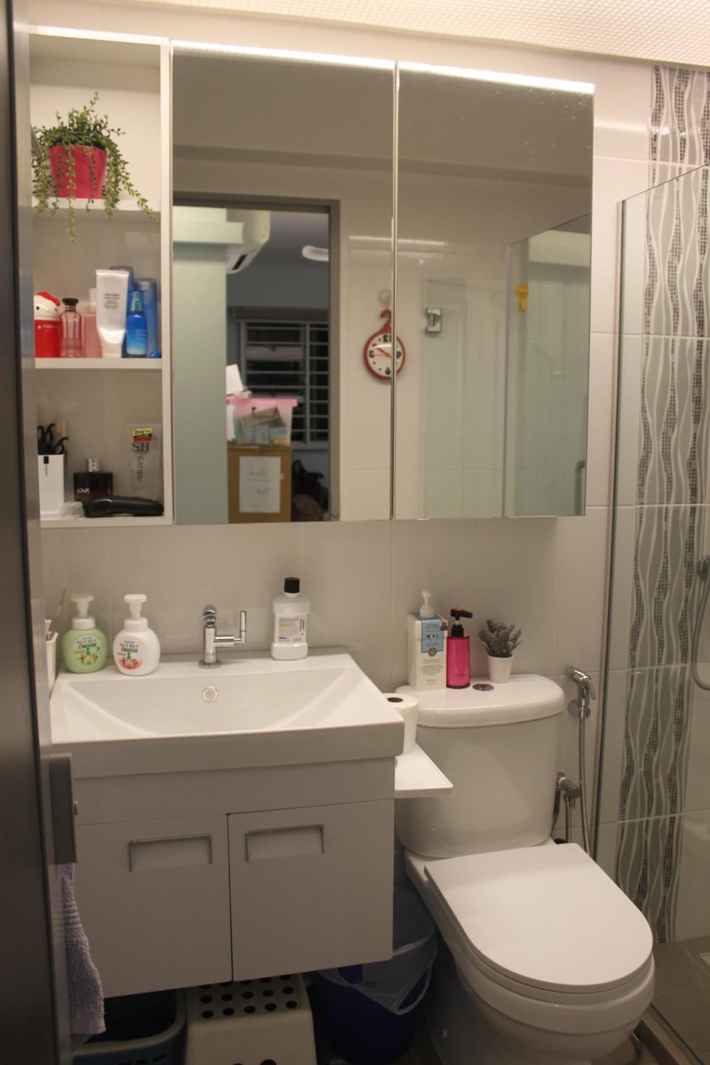 Contemporary, HDB, Bathroom, Telok Blangah Street 31, Interior Designer, The Wooden Platform