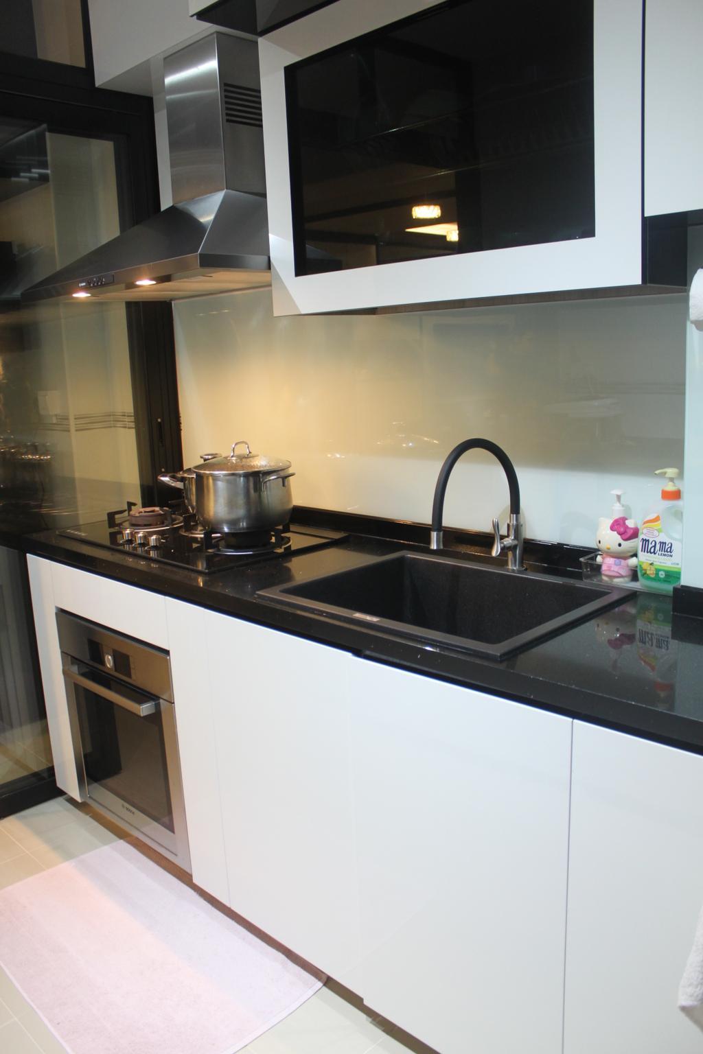 Contemporary, HDB, Kitchen, Telok Blangah Street 31, Interior Designer, The Wooden Platform