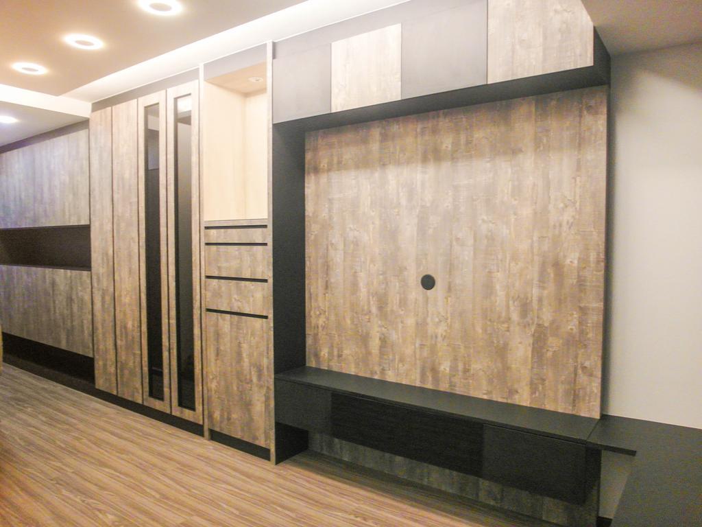 Contemporary, HDB, Living Room, Boon Keng Road, Interior Designer, The Wooden Platform