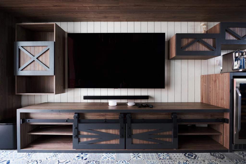 Eclectic, Condo, Living Room, Sol Acres, Interior Designer, Rockin Spaces