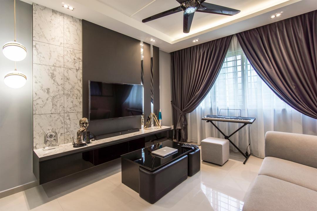 Choa Chu Kang Avenue 4 Living Room Interior Design 2