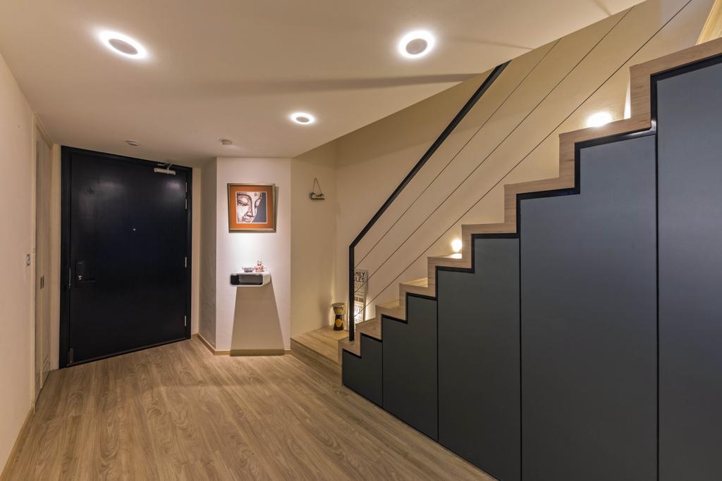 Contemporary, Condo, Living Room, Oleander Towers, Interior Designer, Seven Heaven