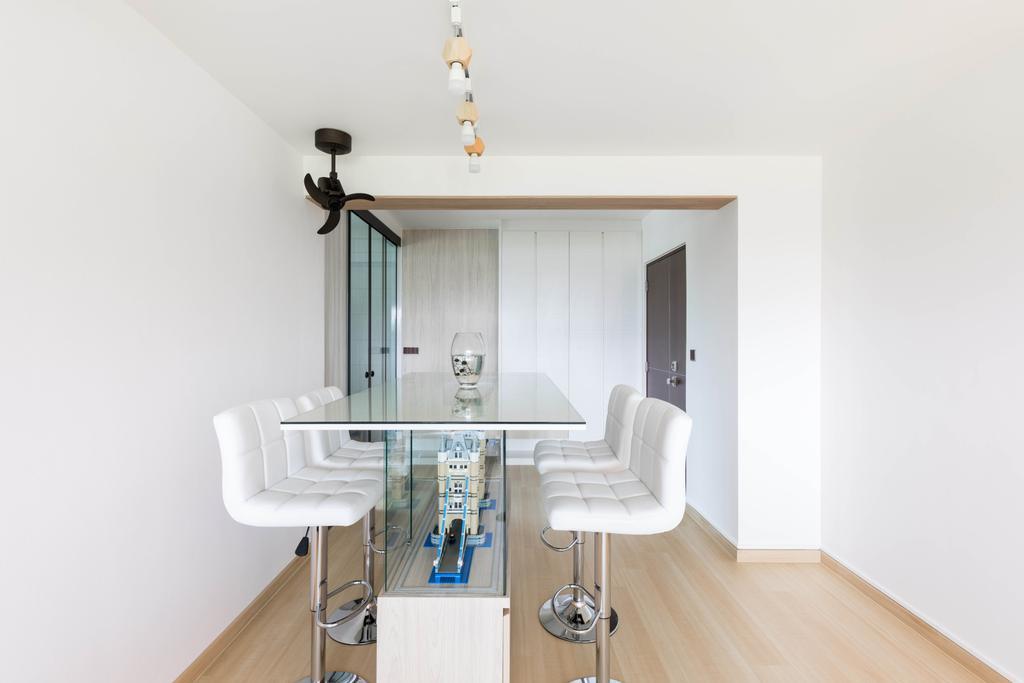 Scandinavian, HDB, Dining Room, Clementi Avenue 1, Interior Designer, ECasa Studio, Contemporary