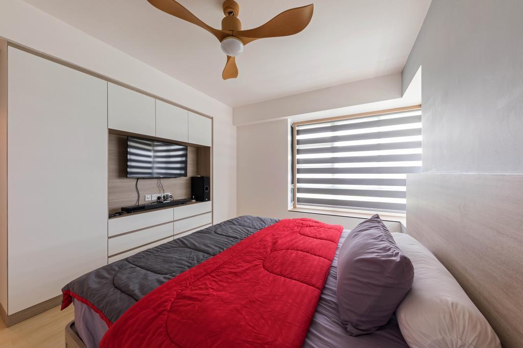 Scandinavian, HDB, Bedroom, Clementi Avenue 1, Interior Designer, ECasa Studio, Contemporary