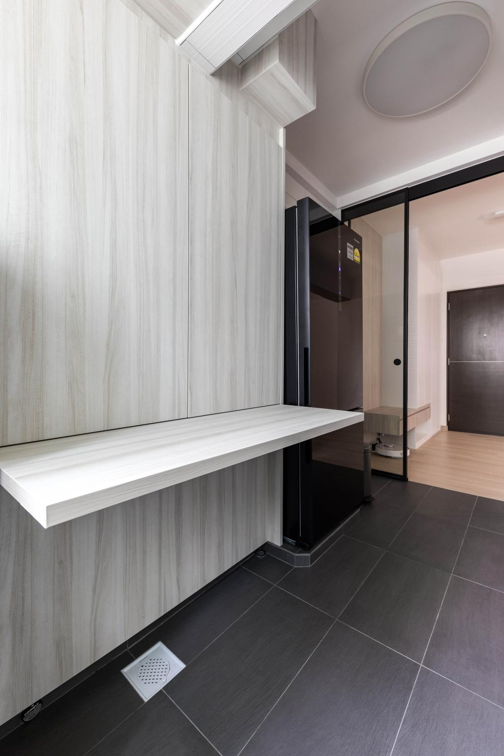 Scandinavian, HDB, Kitchen, Clementi Avenue 1, Interior Designer, ECasa Studio, Contemporary